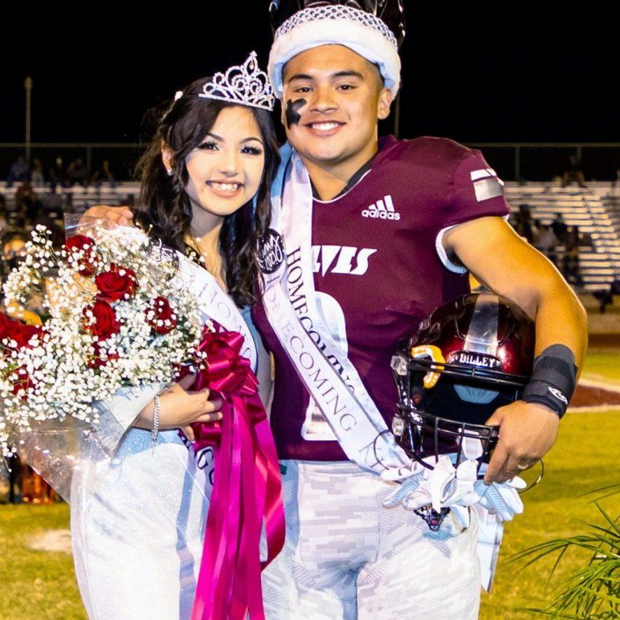 0926 P1 - Homecoming King & Queen Juan Cano & Jeralyn Gonzales