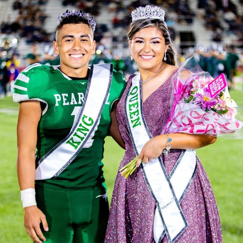 1014 P1 - PHS Homecoming King and Queen