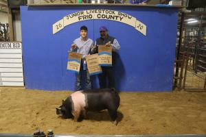 0130 FARM - RESERVE CHAMPION HOG