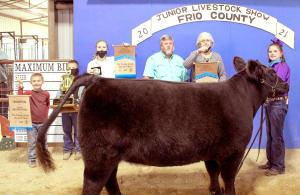 2021 Frio County Jr. Livestock Auction