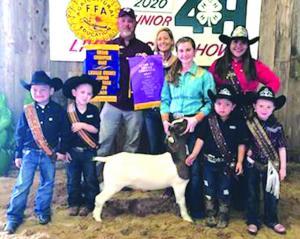 0319 FARM - LIVESTOCK - GC Goat - Dannika Walker