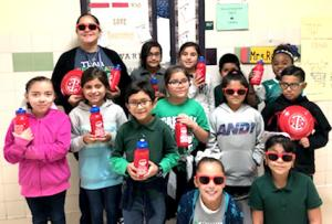Pearsall Intermediate Celebrates Red Ribbon Week