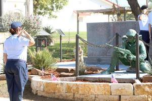 FRIO COUNTY VETERAN'S WALL CEREMONY